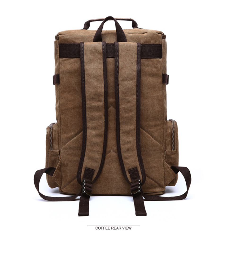 5 Canvas Backpack 15.6