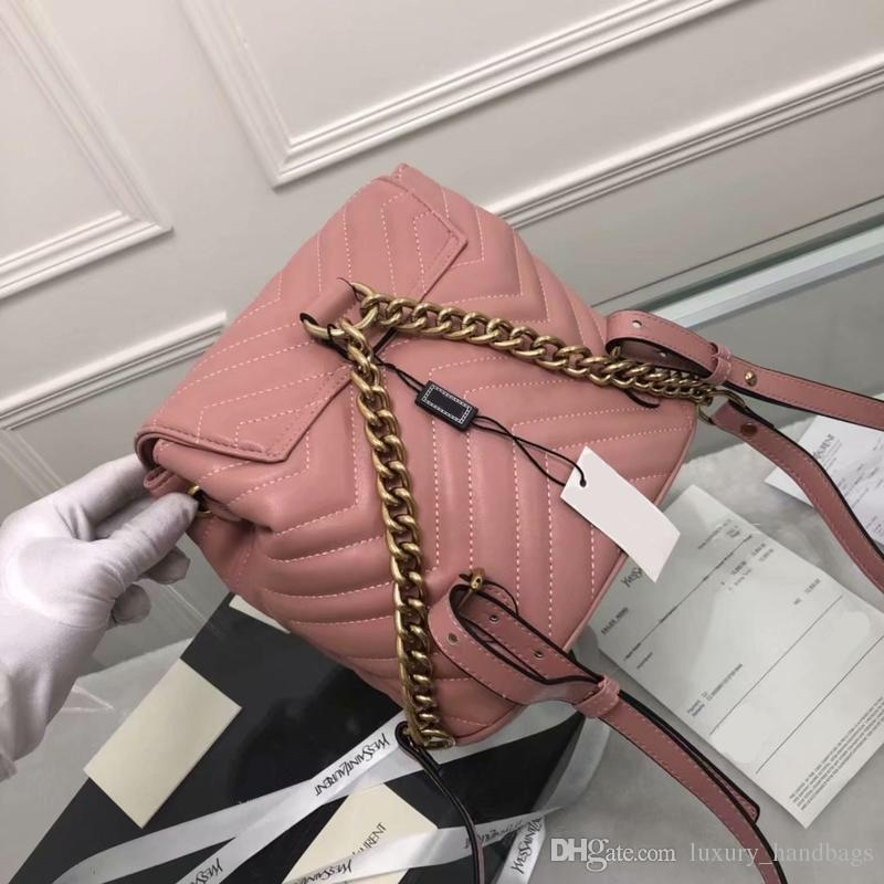Calfskin Backpack Designer Backpack High Quality Luxury Handbags Famous Brands Bags Real Original Cowhide Genuine Leather Luxury Backpack