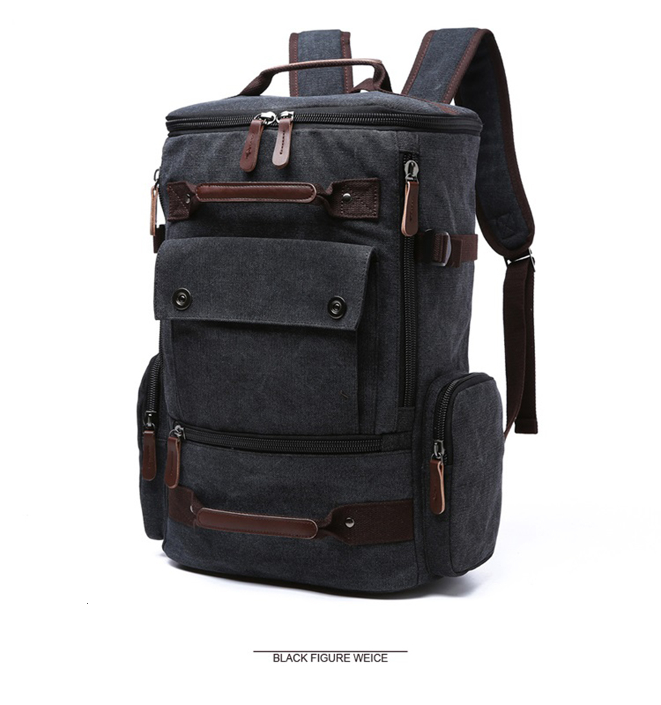 1 Canvas Backpack 15.6
