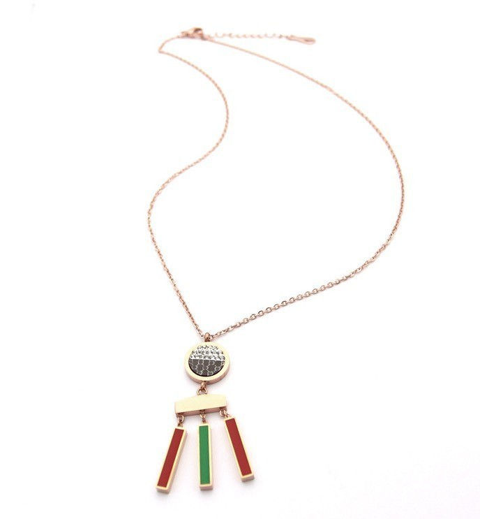 On Sale Rings Pendant Stainless Steel Colorful Pearl Face Jewelry Set With Earring Cute And Necklace For Woman