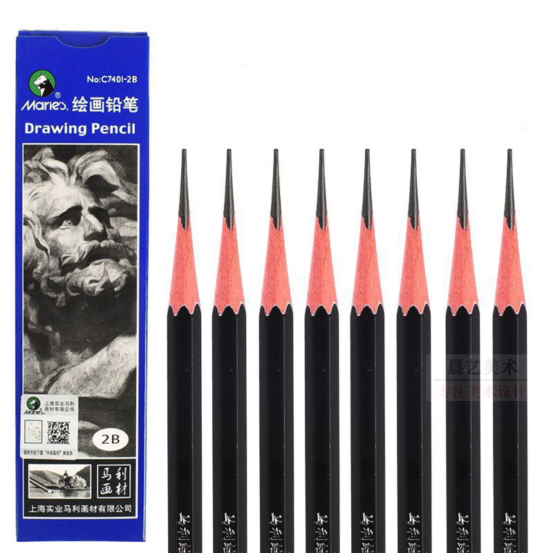 suave 14 unidades arte y escuela L/ápices de dibujo Kasimir dureza de plomo diferente no t/óxicos seguro l/ápiz de dibujo para pintura profesional