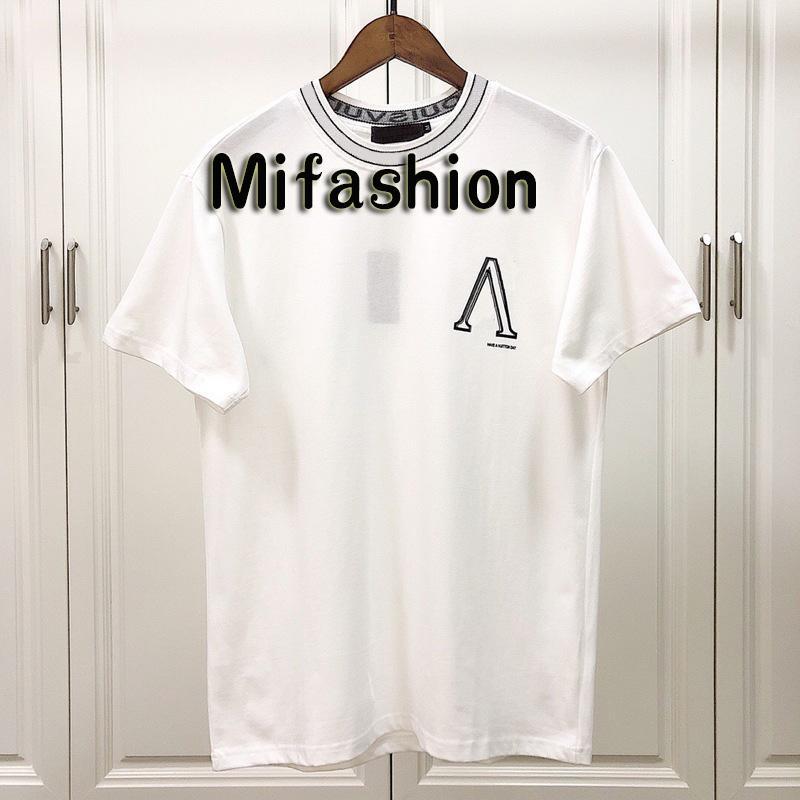 Trend t-Shirt,Wavy Ribbon Rainbow Fashion Personality Customization