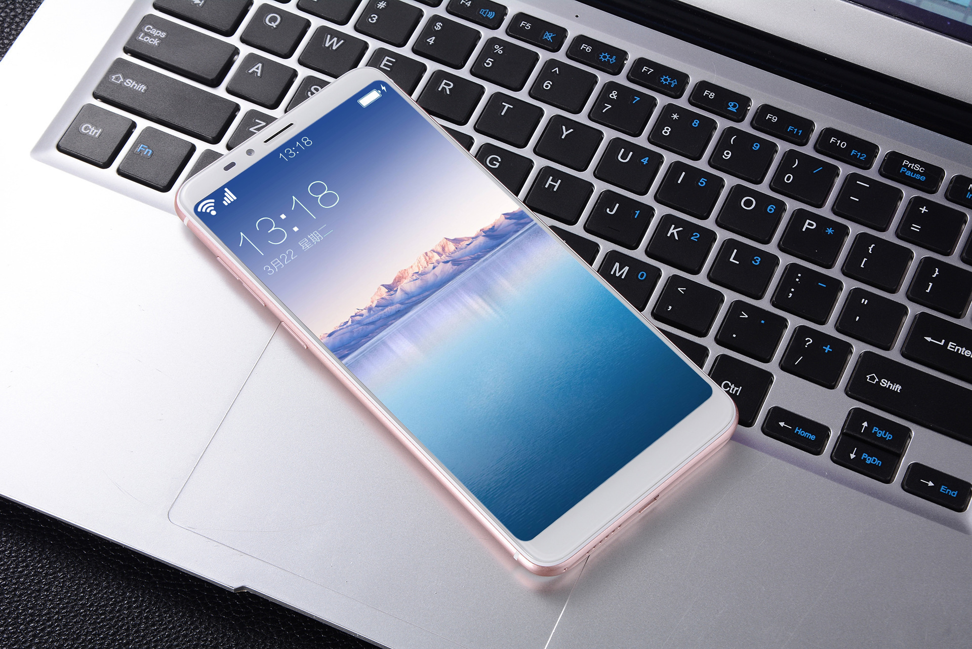 Screen Full Cnc 6g Function 6.5 Inch 18:9 Ten Kernel Fingerprint Security Zhuo Face Unlocking Intelligence Telecom Mobile Phone