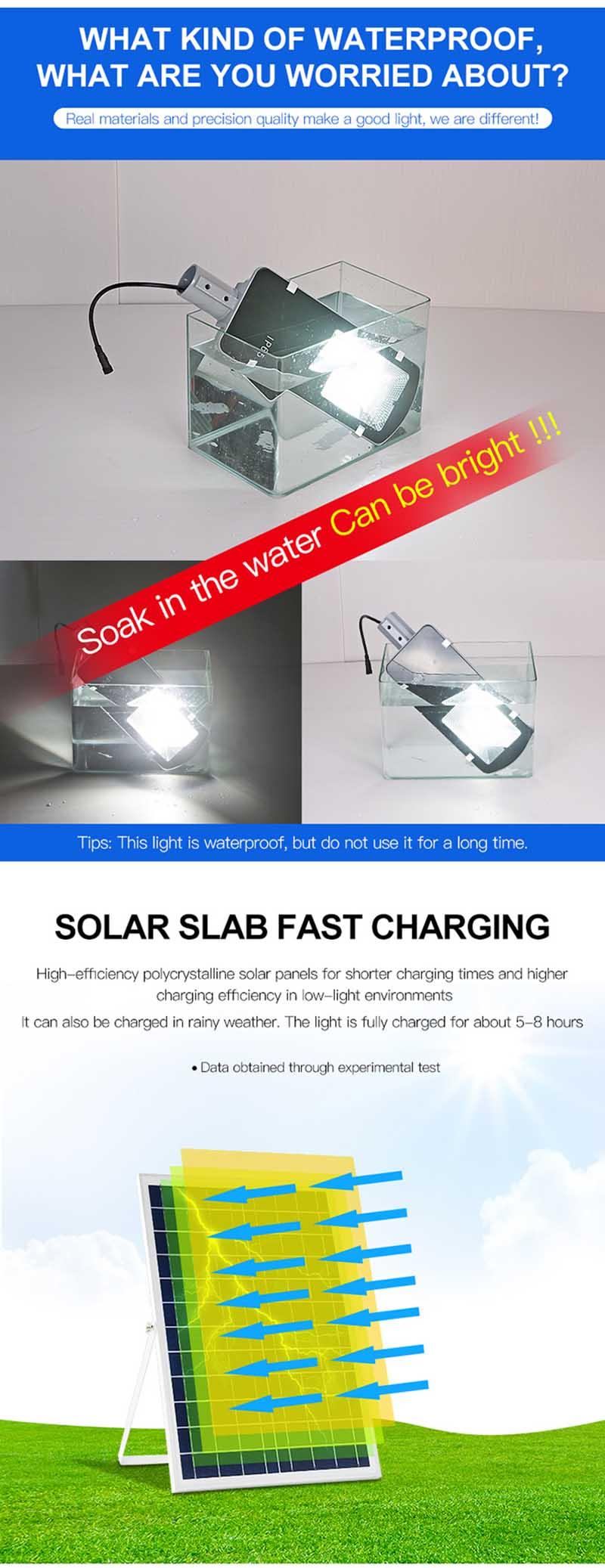 LED Solar Street Light Garden Solar Light Solar Street Lights Solar Energy Lamp Battery Powered Solar LED Light Outdoor (17)