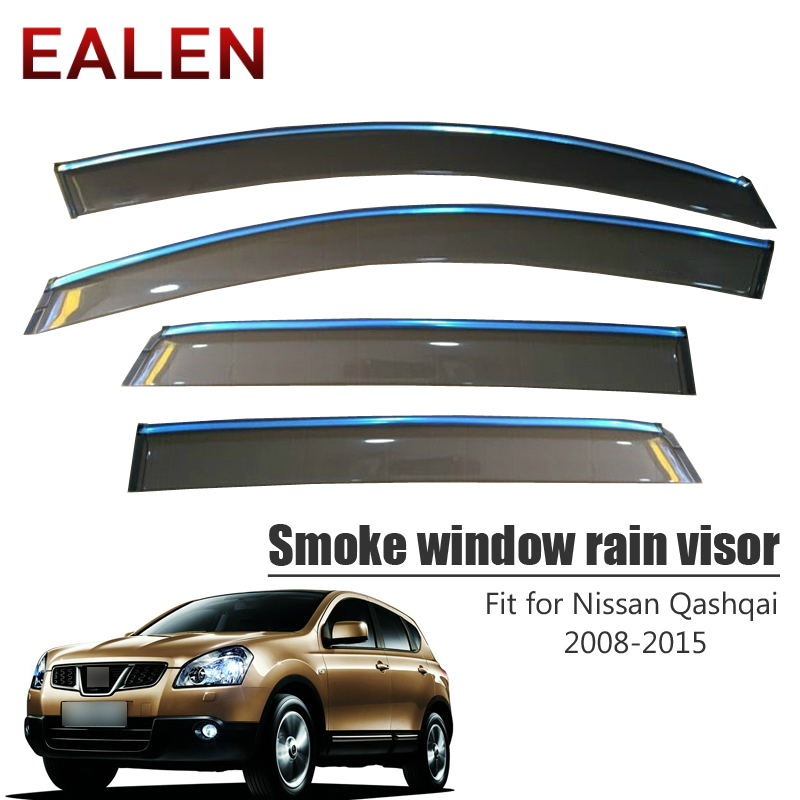 Dualis Stainless Steel Side Window Trim Chrome for Nissan Qashqai 2008-2013