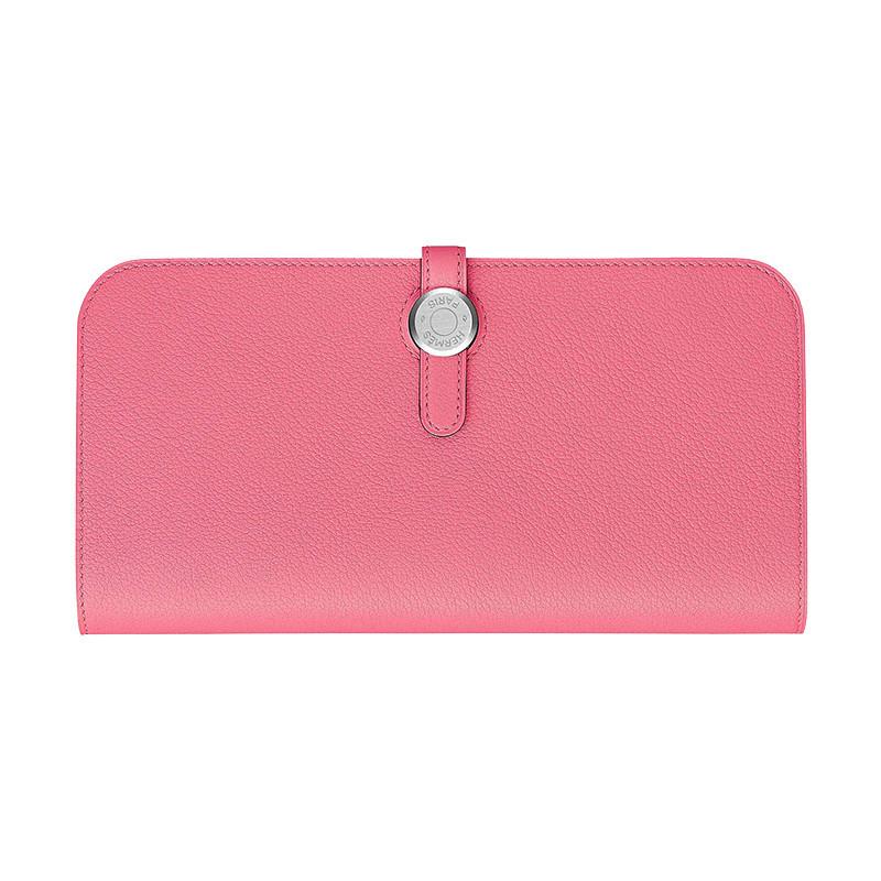 /Mermaine Lady Dogon Recto-Verso Wallet Azalea H066381CK8W-BA11