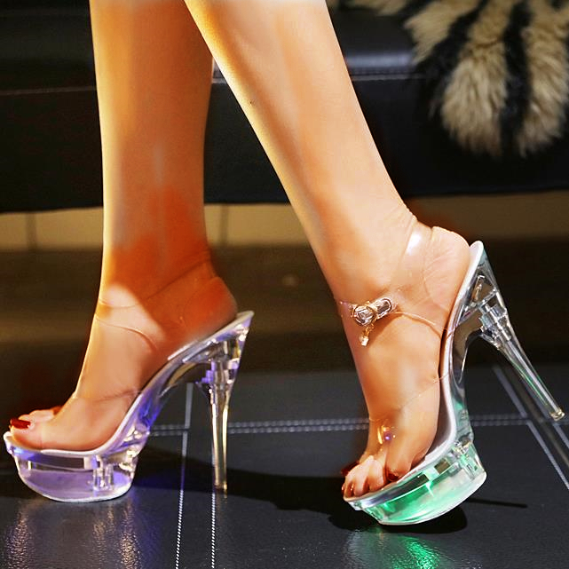 Da DONNA CON ZEPPA TACCO BASSO SERATA Diamante Gemma Muli sposa sandali taglia
