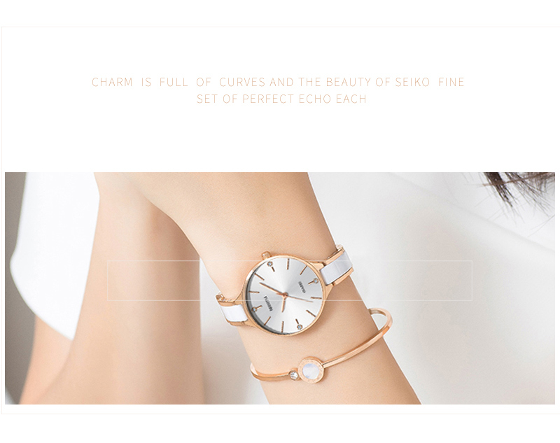 Relojes Para Mujer NIBOSI Women Watches Bracelet Watch Ladies Wrist Watch Women Waterproof Fashion Casual Crystal Dial Rose Gold (8)