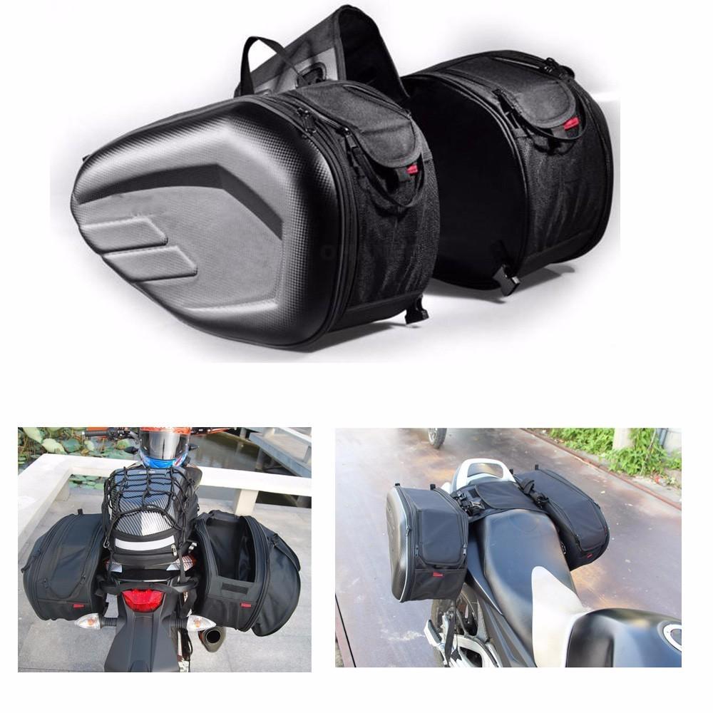 Kimiss universel /étanche Moto Selle Sacs Sac de queue c/ôt/é Sac Outil Sac Cruise Sac de v/éhicule pour Harley