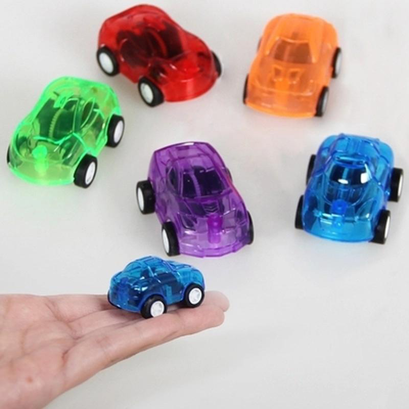 6x Mini Pull Back Cars Party Loot Bag Fillers Pinata Birthday Boys Girls toys UK