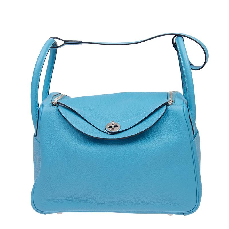 / ladies handbag LINDY 30 P3 blue TAURILLION silver buckle LD30P3TCSS-BA9907