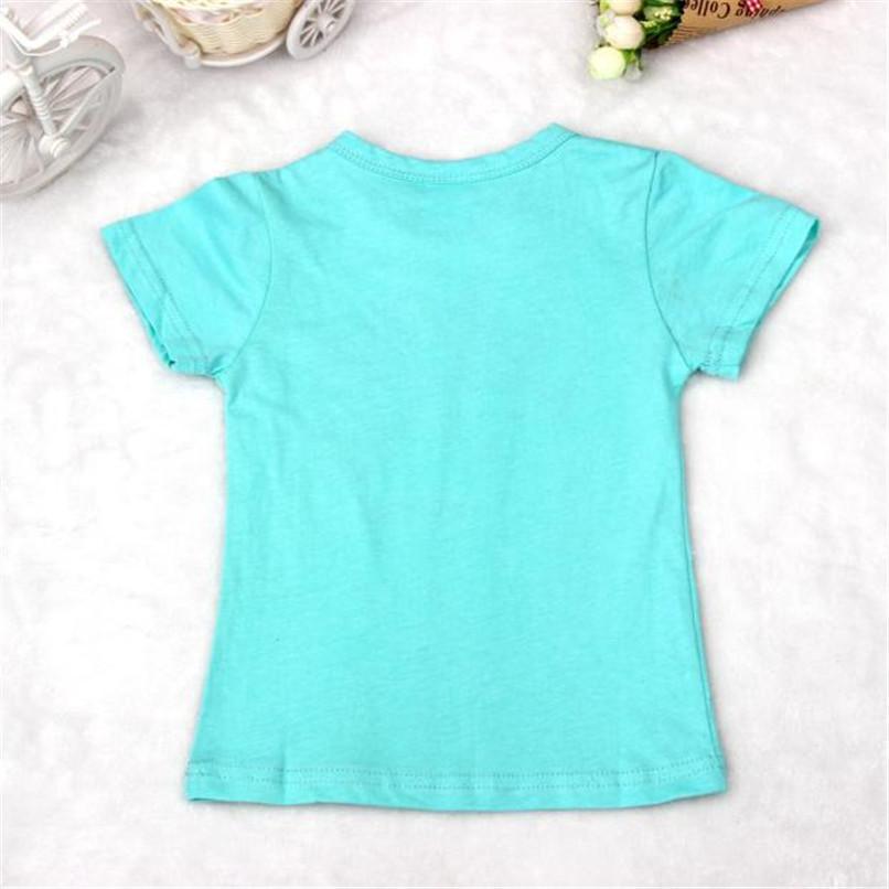 Summer Children Boy Kid T-Shirt Lovely Face Short Sleeve Tops O Neck T-Shirt Tees NDA84L16 (4)