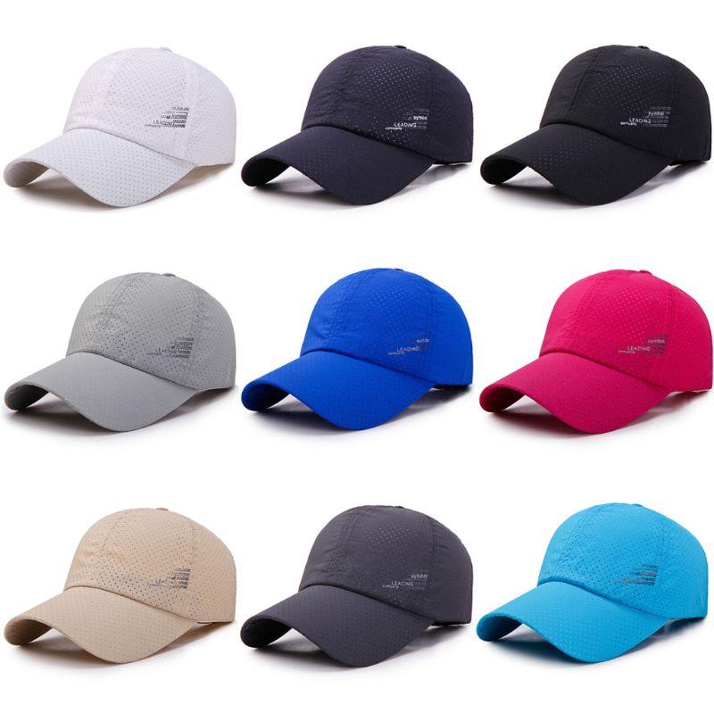 2017 Summer Baseball Cap Men Breathable Quick-Drying Mesh Hats Women Sunshade Caps