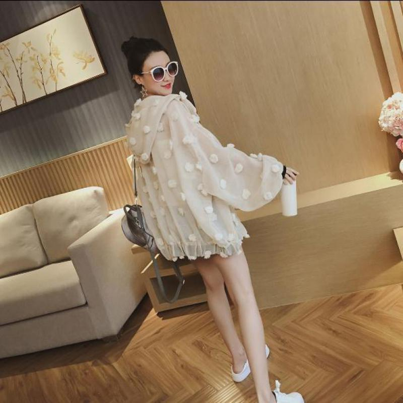 2019 Arrival Sunscreen Clothing Female Korean Style Loose Eugen Yarn Thin Jacket Fashion Summer Coats C19041601