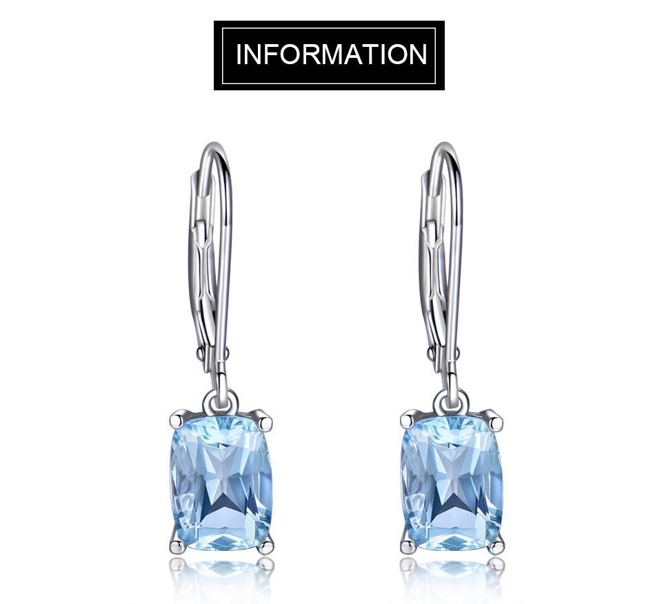 UMCHO Sky blue topaz silver sterling jewelry sets for women EUJ054B-1-pc (1)