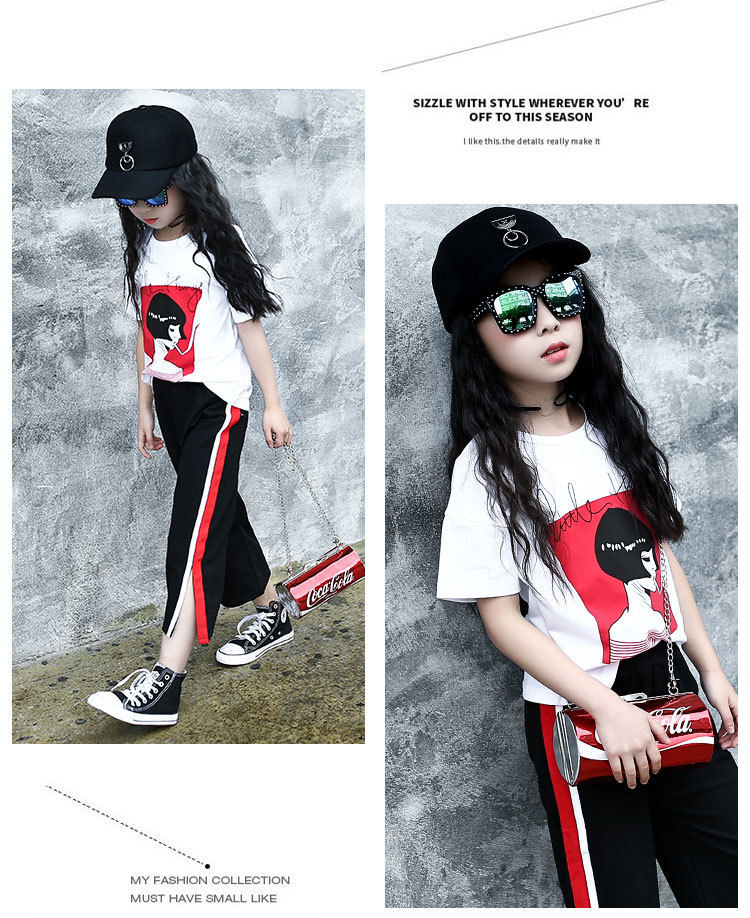 78e1e42c84a25 2019 110~175 T Shirt +Pants Teenage 13 14 15 16 Years Old Girls Clothing  Set Summer 2019 Girls Clothes From Textgoods10, &Price; | DHgate.Com