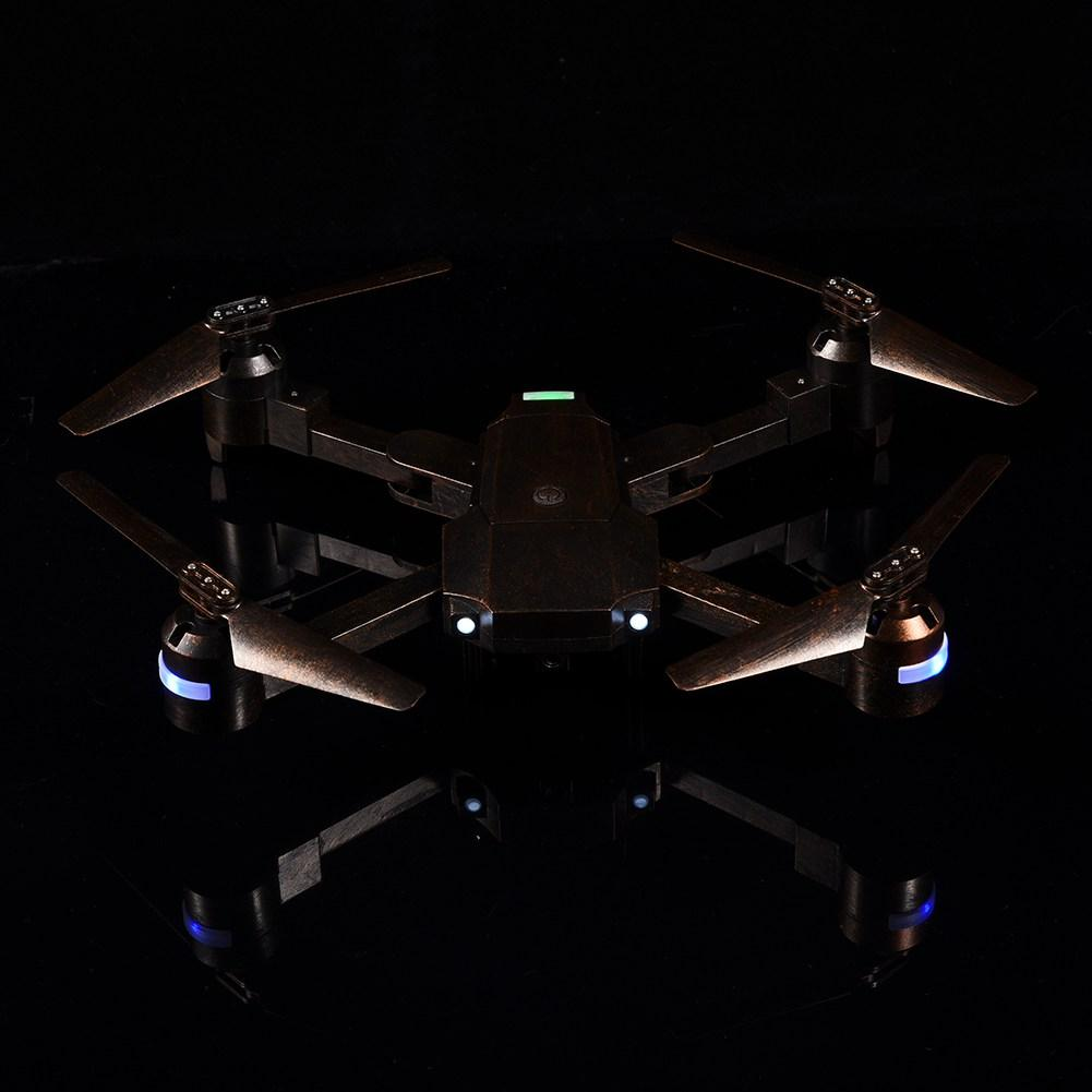 2.4GHz 6-axle gyroscope Foldable Drone Altitude Hold Headless Mode Bronze RC Quadcopter Helicopter Toy for kids nice gift