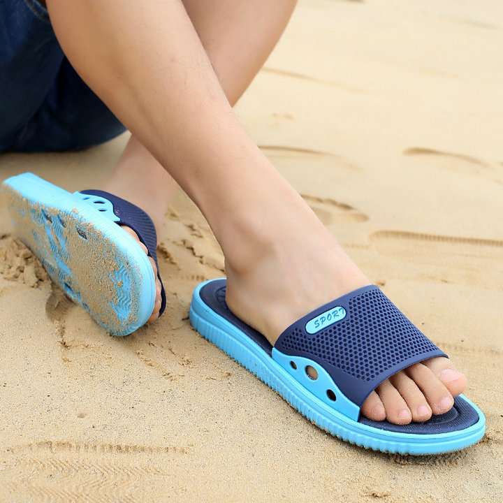 Fashion New Design Anti Slip Adult Men Shoes Sport Slide Slippers Outdoor Indoor Beach Slippers For Man (7)