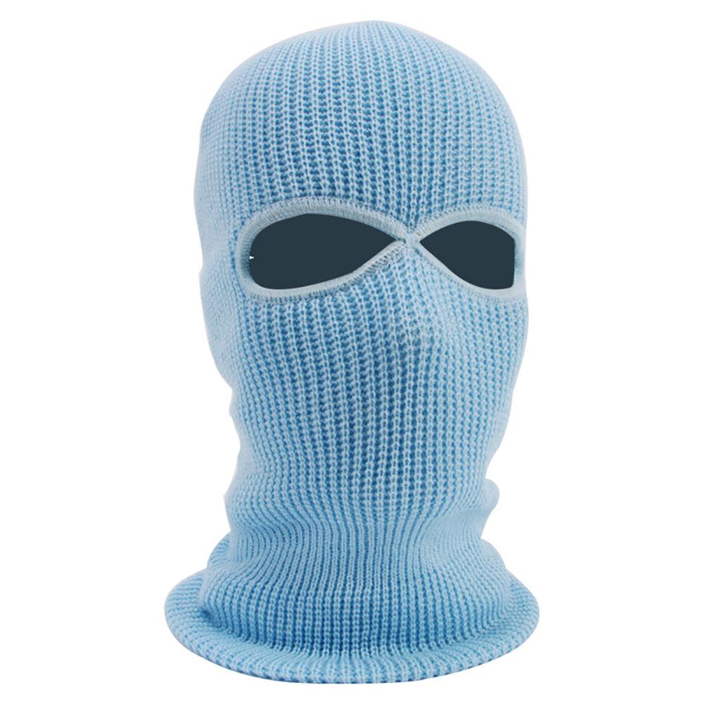 New Army Tactical Winter Warm Ski Ciclismo 2 hoyos Pasamontañas Cap Cap Full Face Mask