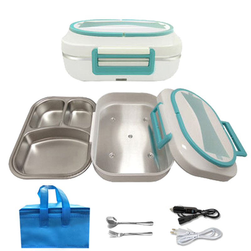 Electric lunch box stainless steel lunch box1