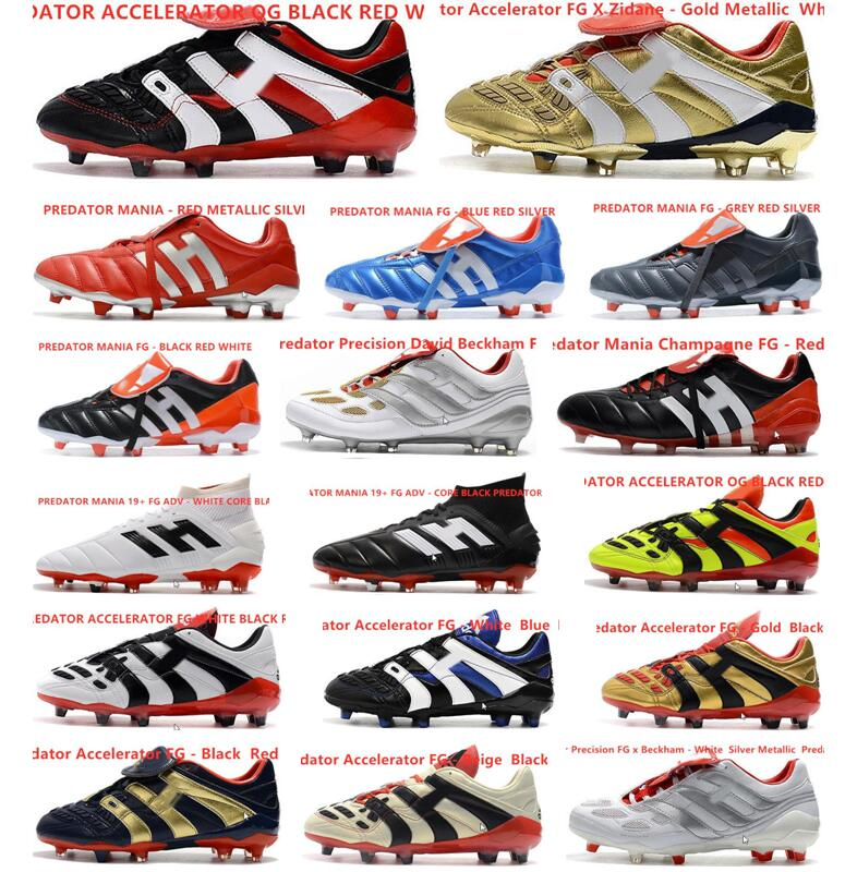 Hot Predator 19+ 19.1 FG Paul Pogba Season 6 6th Encryption Code Mens Boys Soccer Football Shoes 19+x Cleats Boots Cheap 39-45