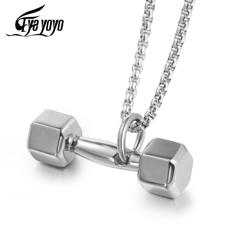 5PCS MIX Vintage Gymnasium Gym Fitness Sports Weightlifting Ball Barbell Pendant