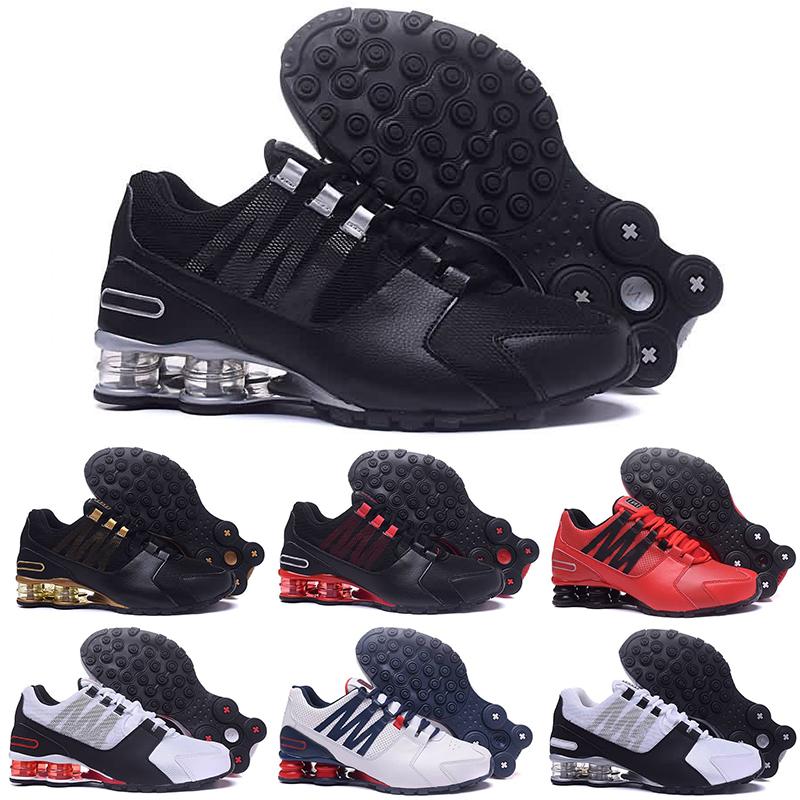Nike Shox 2018 nuevos hombres baratos Classic Avenue 803 Entregar Oz  Chaussures Femme Zapatillas de deporte Entrenador deportivo Tenis Cojín ...