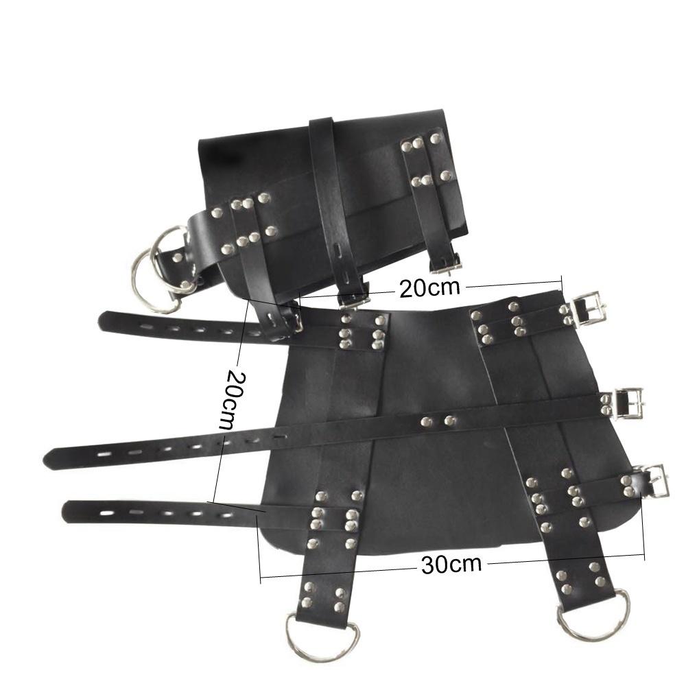 New Leather Suspension Special Bondage Belt Bdsm Bondage Straps Bondage Restraint,fetish Leg s Adult Sex Toys Adult Games J190525