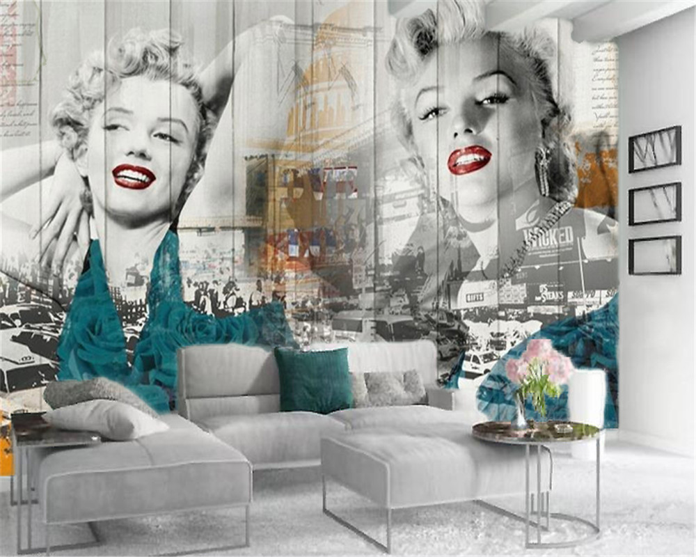 Wholesale Marilyn Monroe Wallpaper Buy Cheap Marilyn Monroe