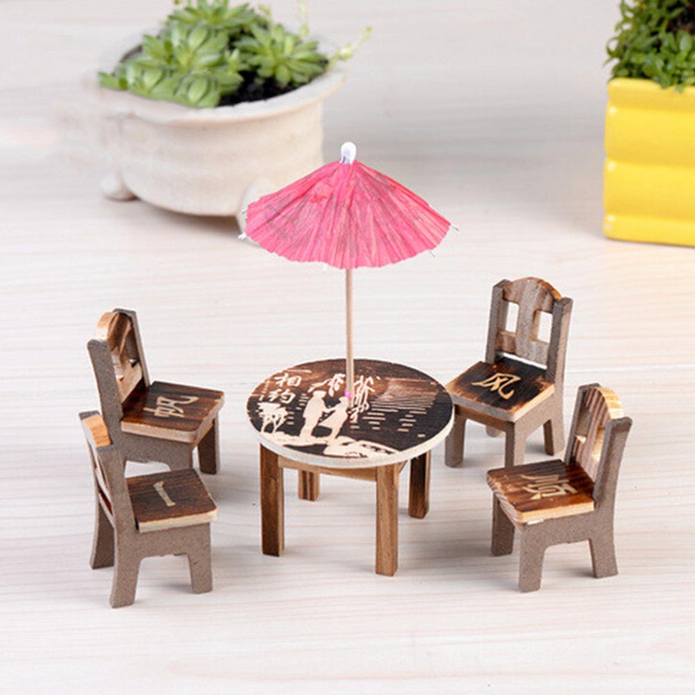 Casa De Muñecas esquina de nogal Gabinete de China Muebles Miniatura Living Comedor