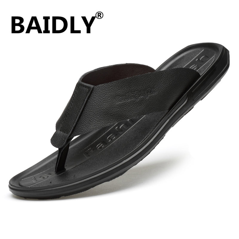 Mens Sandals Slippers Fisherman Flip flops Clip Toe Summer Outdoor Sport Casual