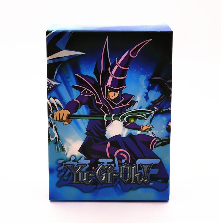 Yugioh YU Gi OH DIY Egyptian God Dark Magician Carving Stereoscopic Game Card Be