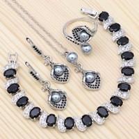 Silver-925-Jewelry-Sets-For-Women-Accessories-Gray-Pearls-Black-Cubic-Zirconia-Bracelet-Drop-Earrings-Open.jpg_200x200