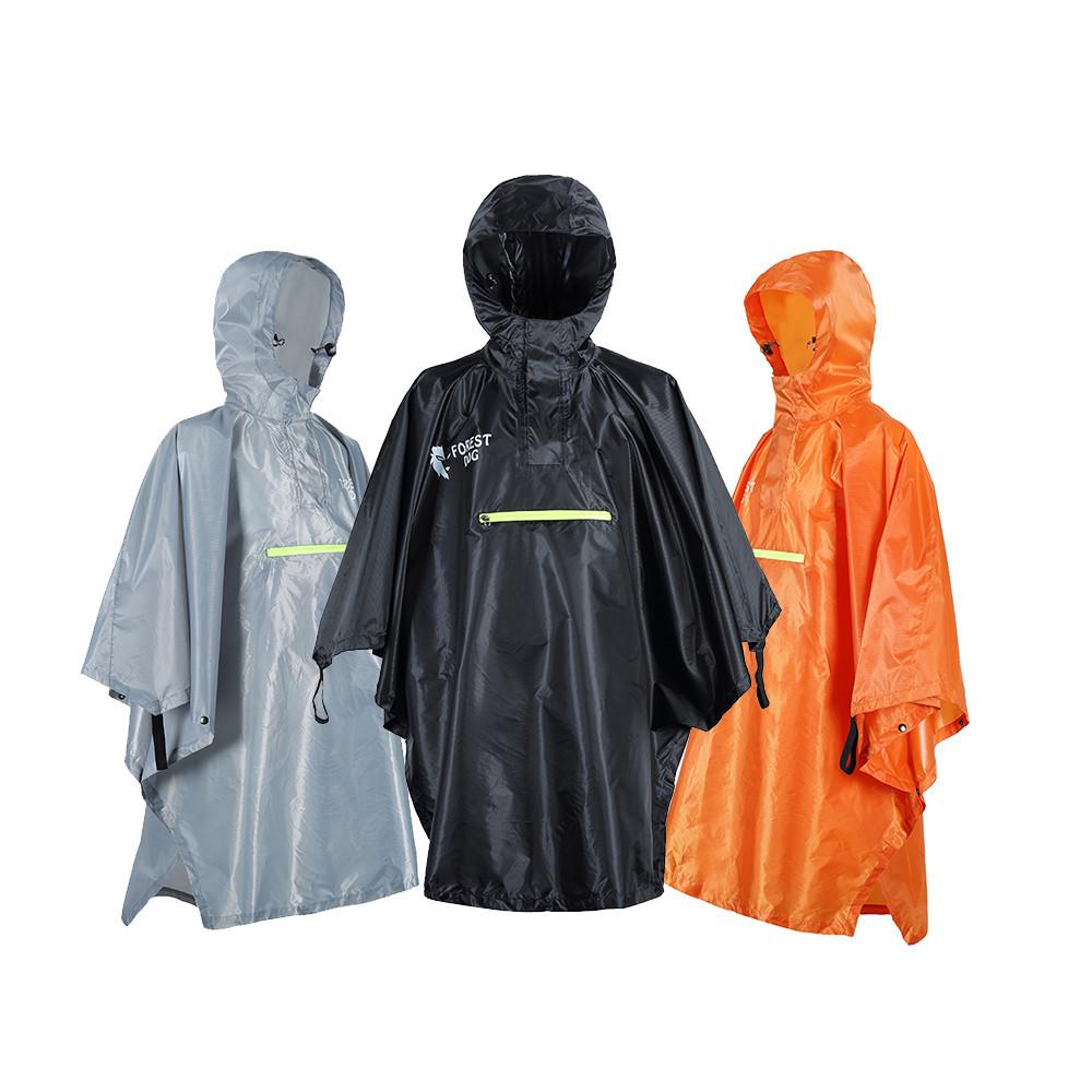 impermeable con capuchas ligero 3 en 1 chaqueta de lluvia para acampar senderismo actividades al aire libre viajes ultraligero 58bh 3 en 1 Polyeste tienda de campa/ña Poncho de lluvia
