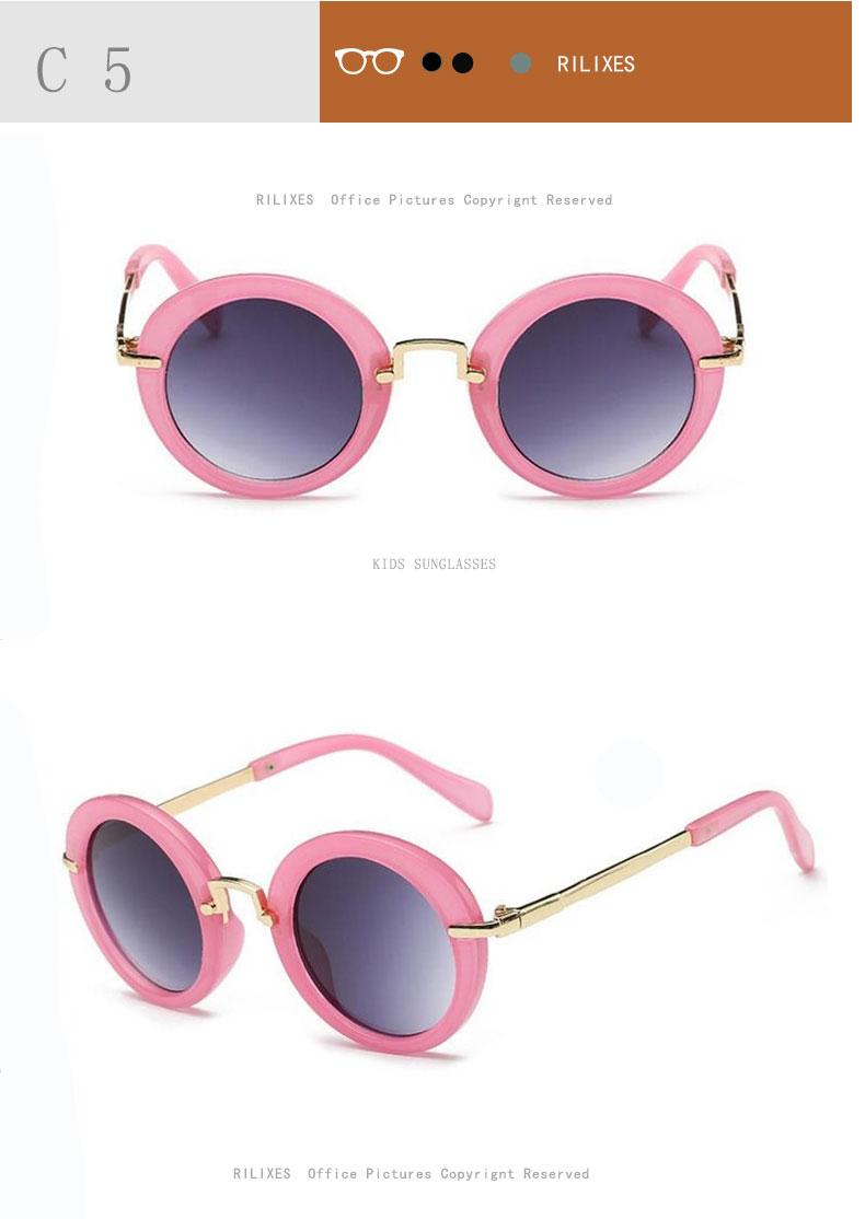 NEW Baby Girls Sunglasses Brand Designer UV400 Protection Lens Children Sun Glasses Cute Kids Sunglasses Cool Goggles (3)