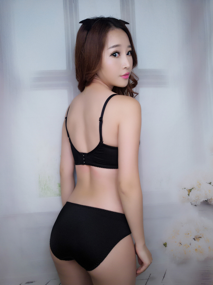 Jerrinut Sexy Lingerie Set Underwear Women Push Up Bra Set Seamless Embroidery Bra And Panty Brassiere Bra Brief Sets 5