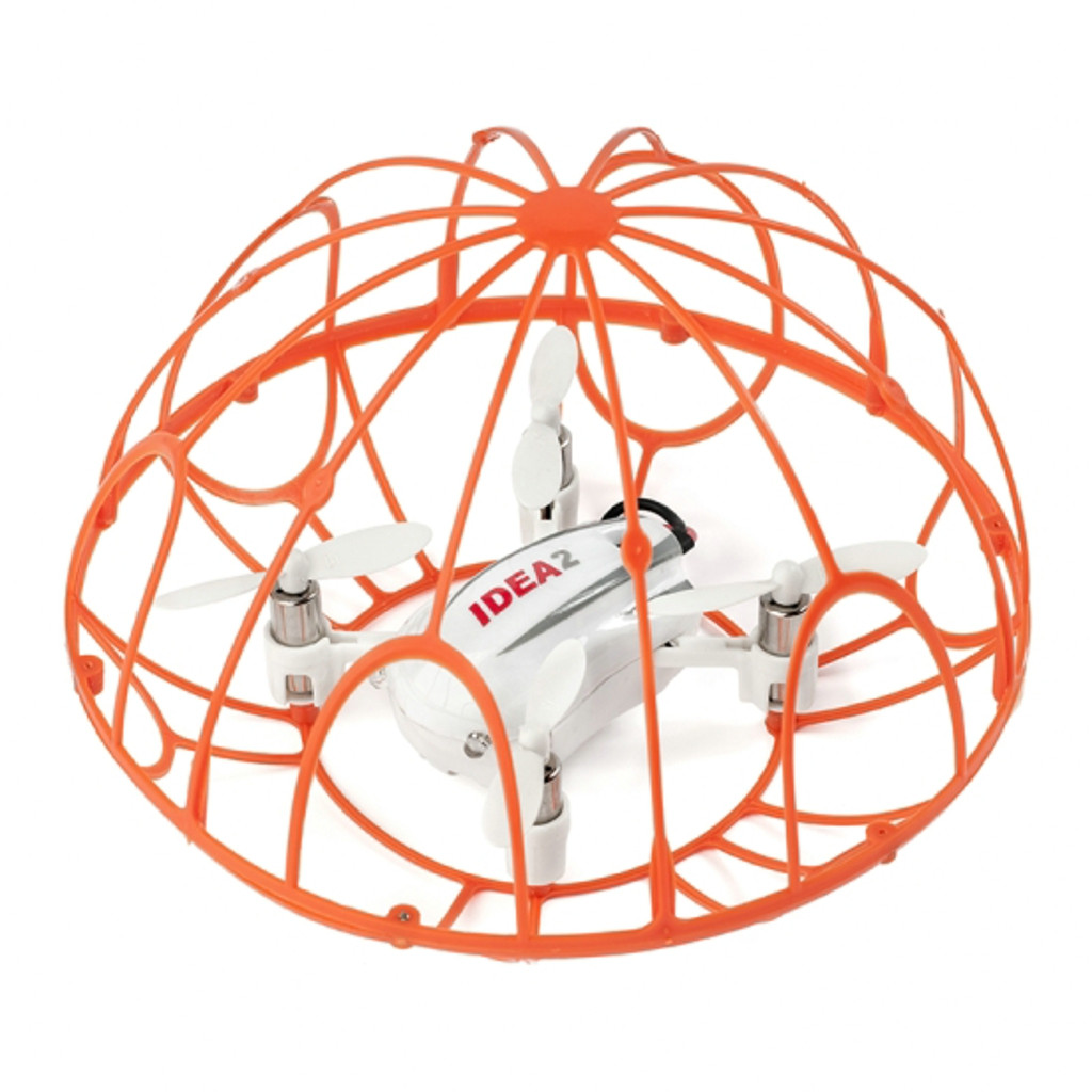 IDEA2 Mini Drone 2.4G 4 Axis Gyro Quadcopter In Cage For Kids Beginners Helicopter Remote Control toys for children RC Drone