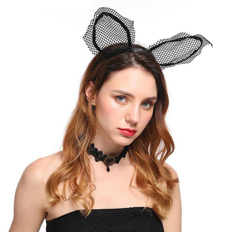 Women Girl Hair Hoop Band Headband Hairband Cat Ear Charm Hair Accessories Party