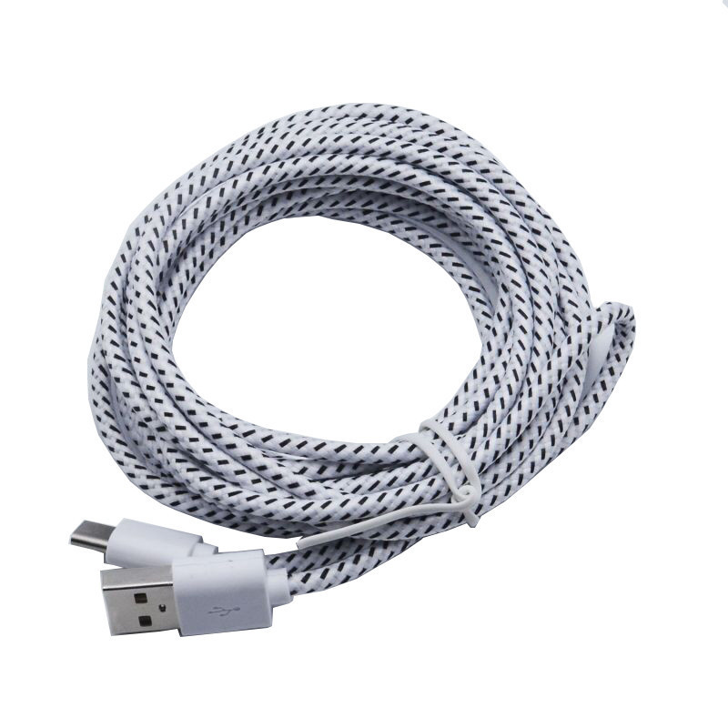 2m Type C 2.0 To Usb Type-c Fast Charging & Sync Data Cable