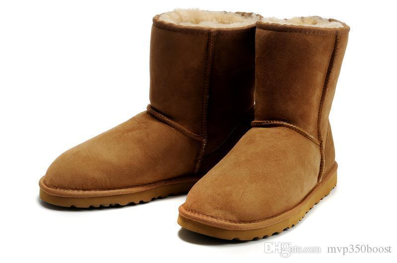 Top quality new fashion Australian classic high winter boot leather boots female boots snow boot