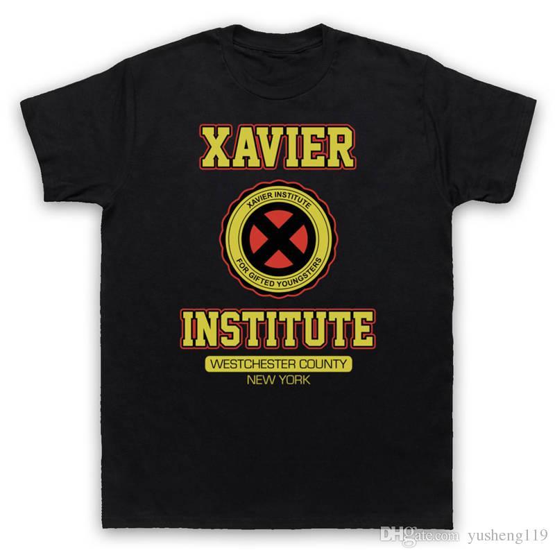 Neueste 2018 T-Shirt Mode Männer Kurzarm Zomer Oansatz X-Men Xavier T-Shirts