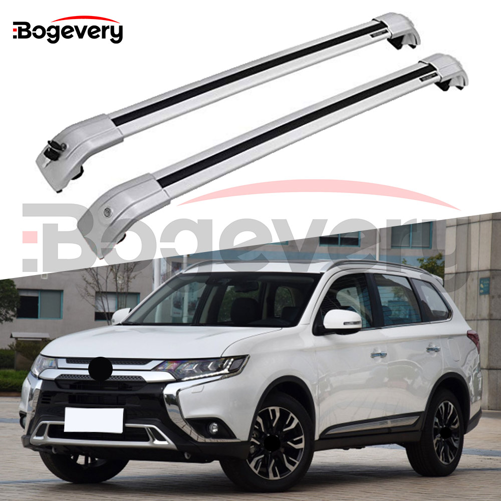 Roof Rack Cross Bar For Mitsubishi Outlander 2013-2019 Storage Pair 2 PCS