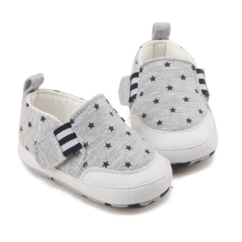 Baby Shoes For Girls Boys Newborn Infant Baby Girl Boy Star Print Shoes Soft Sole Anti-slip Shoes Baby First Walker Shoes M8Y11 (17)
