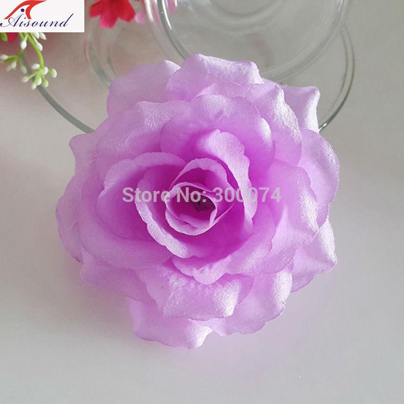 Light purple rose flowers for wedding wall