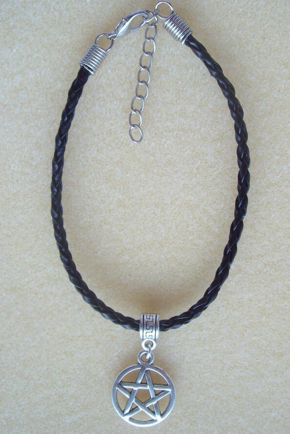15 PCS Alloy Silver Charm Sorcières Balai Collier fait à la main pendentifs 27*8*3mm