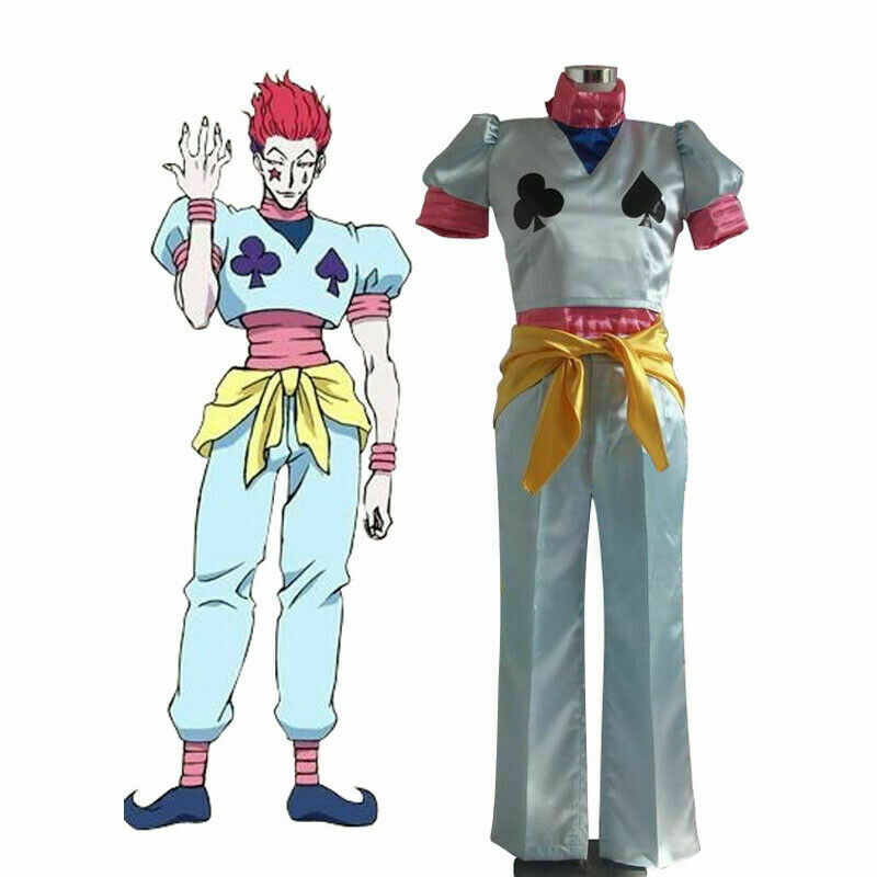 Hunter X Hunter Magician Poker Joker Hisoka Morow Serial Killer Cosplay Costume