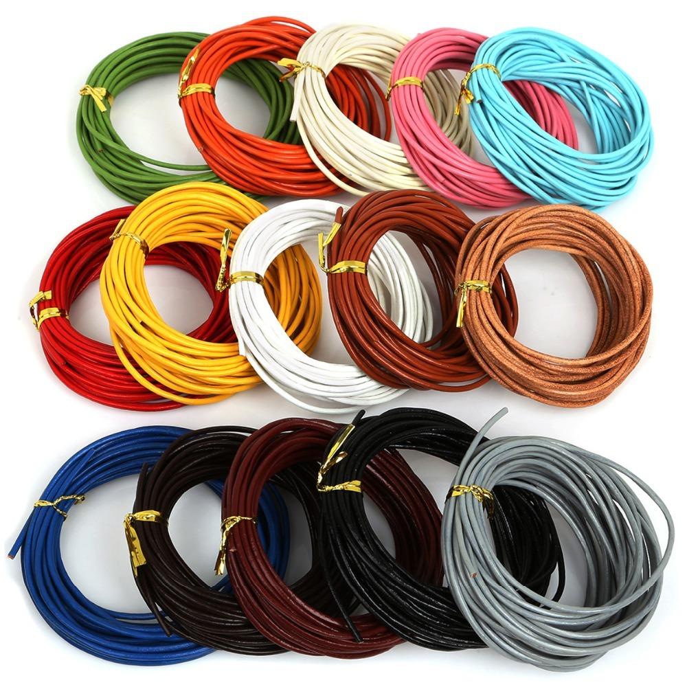 Wholesale 10pcs Suede Leather String 20 inch Necklace Cord 18colour You choose