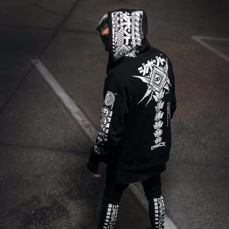 Men Hoodie Sweatshirt Tracksuit Jacket (2)