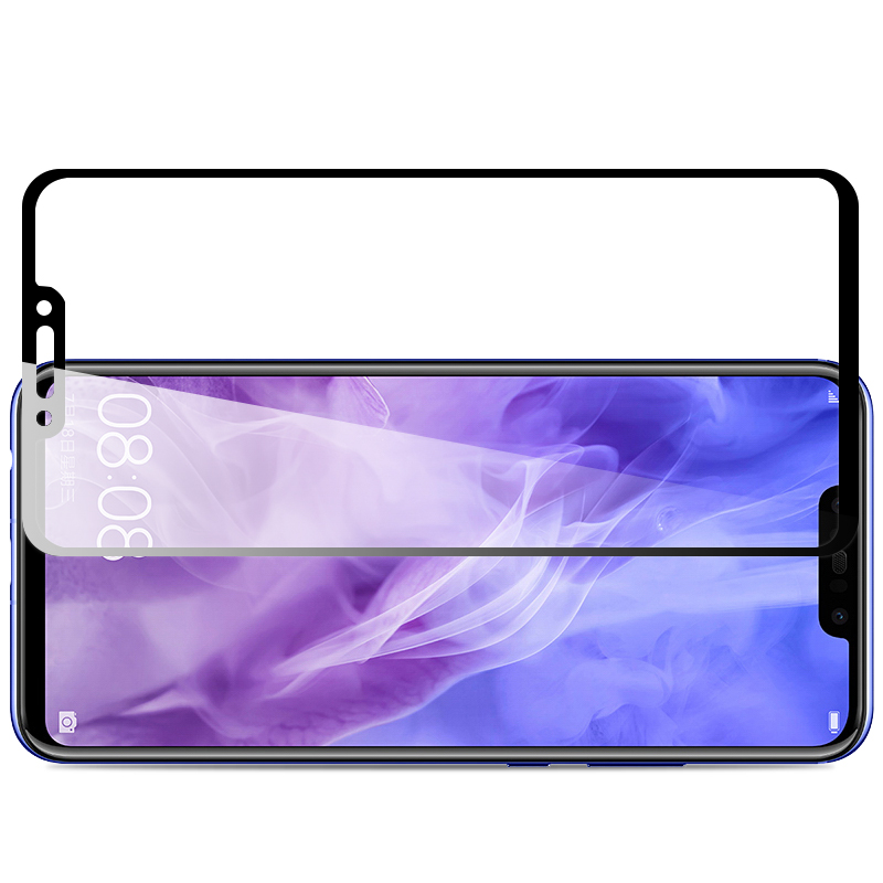 MAKAVO-For-Huawei-Nova-3-Tempered-Glass-2-5D-Full-Cover-Screen-Protector-Armor-Film-For