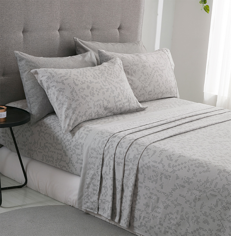 Phf Flannel Bed Sheets And Pillowcases Cotton Bed Sheets Sets Soft Queen King Size Bedding Sets Light Grey Blue T200415 Black And White Bedspread Blue And White Duvet Cover From Mingjing03 66 69